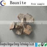Calcined bauxite china manufacturer AL2O3 60%-90% with low price