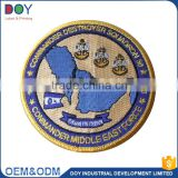 Wholesale high quality customized designed washable eco-friendly garment fabric embroidery badges