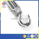 Stainless Steel DIN1480 Construction Rigging Screw with Hook and Eye