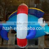 Giant Inflatable Fish with Swim Ring for Advertising Decoration