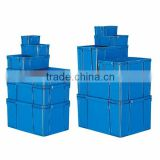 Durable and Easy to use blue storage box Container for house use , Lid also available