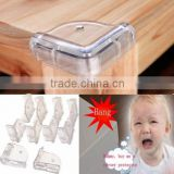 Baby Kid Safety Anti-Crash Table Corner Protector / clear table protector / table cushion pad