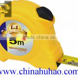 Wholesale Tape Measure Customized Yellow 3m 5m 7.5m 1 Stops Stainless Steel Measuring Tape