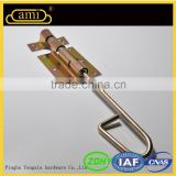 iron double sliding door latch for house gate designs