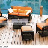 4 piece outdoor rattan wicker sofa set garden sofa