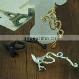 Dragon earring stud, men black earring, earring designs men