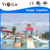 kids and adult water park outdoor playground slide