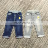 100% cotton twill 12OZ children kids baby or adult blue vintage boys denim jeans emboridery pants