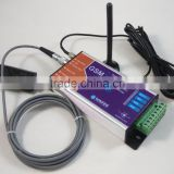 Backup battery operated GSM temperature and humidity alarm controller
