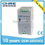 DR-120-24 120W 24V SINGLE OUTPUT INDUSTRIAL DIN RAIL POWER SUPPLY AC/DC CE APPROVED FOR LED