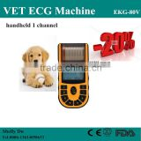 CE&ISO Single Channel Veterinary/VET Portable Electrocardiograph ECG Machine EKG Machine Price EKG-80V-Shelly