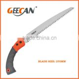 PP+TPR handle pruning saw high quality sk5 material blade garden pruning saw