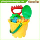 Outdoor Toys Hot Selling Toddler Kids Outdoor Toys Tiny Beach Sand Toys Tools Bucket Set New