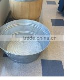 Galvanized Round ice beer tin bucket