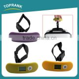 Travel Accessory Colorful LCD Display Digital Luggage Scale Travel Portable Handheld Luggage Weighing Scale