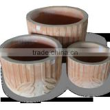 Mekong Delta Terracotta Pot Outdoor - Pottery Planters