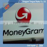 moneygram's advertising signs