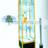 electric elaborate works art/display cabinet/Glass cabinet/show case cabinet/ book cabinet