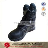 Genuine Leather Black color Tactical original swat boots
