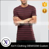 Most Fashion Men High Quality Blank Tees tshirts With Stripes