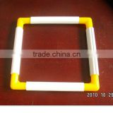 Plastic embroidery Hoop,High-quality, Square style