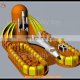 new design inflatable missile , inflatable missile playground , giant inflatable playgrounds for sale