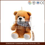 wholesale stuffed mini teddy bear toy keyring