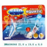 2012 novelty 16cm wind up swimming shark toy