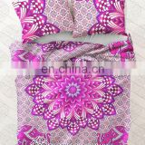 Indian Mandala Duvet Cover Ethnic Decor Quilt Doona Cover Blanket With Pillow Cover Throw