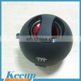 Promotional Custom Logo Hamburger Mini Speaker