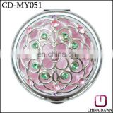 gift foldable Cosmetic mirror/Pocket mirror /Compact mirror CD-MY051