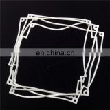 China Factory Flat Square Silicone Rubber Sealing Gasket