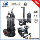 cast iron impeller submersible sewage pump with control panel