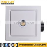 12 inch square ceiling mounted centrifugal duct exhaust fan with 50W halogen light                                                                         Quality Choice
