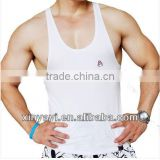 wholesale clothing gym tops/gym wear stringer tank top/custom stringer tank top for men clothes from garments factory