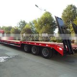 3 axle truck trailer,low bed truck trailer with BPW axle
