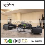 Foshan modern cheap sectional sofa leather sectional sofa