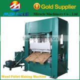 Sawdust & wood shaving & wood chips pallet pressing molding machine for sale