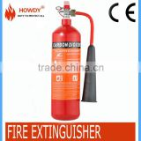 2kg carbon dioxide fire extinguisher fire equipment manufacture valve with ISO certificate