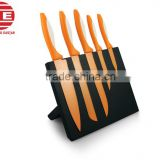 (DCK-050) Stainless steel 5 pieces Knife Set or Cutting Set with Magnetic knife holder