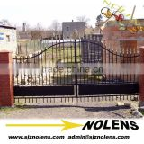 The Luxury garden outside metal gate designs /wrought iron gates /wrought iron double doors /metal iron gate