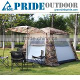 Outdoor Camouflage Waterproof Military Tent Canvas Fabric With Mosquito Net Camping Military Camouflage Tent