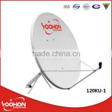 1.2m 120cm Satellite Receiver TV Antenna Offset Dish
