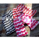New design ripple baby pants stripe toddle trousers ruffles kid shorts wholesale infants pant