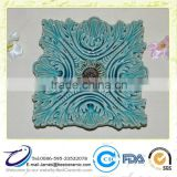 New Daily Use Design Handmade Ceramic Flower Plate