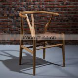 New design antique living room wood chair noble dining chair with armrest high quality furniture