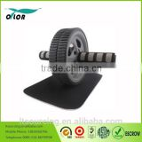 Ab Power Wheel Ab Roller(Gray),Meridian Point Rolling Ab Wheel Perfect Core Body Workout Tool                                                                         Quality Choice