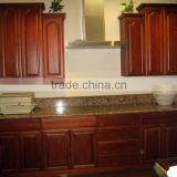 American Style Wood Kitchen Cabinet / modern kitchen cabinets