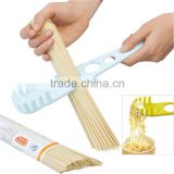 ABS 5.4*28.6*2.8 Best selling products plastic kitchen accessories measuring tool pasta measure/cute pasta measure