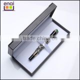 Shanghai factory direct dragon promotional metal fountain gift pen with box